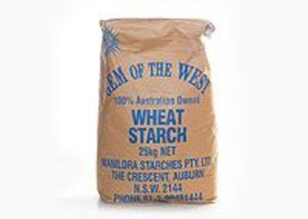 POWDERED WHEAT STARCH 25KG