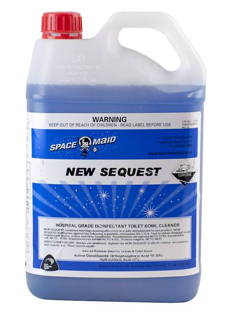 New Sequest Toilet Cleaner